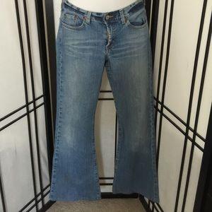 Light blue lucky jeans!