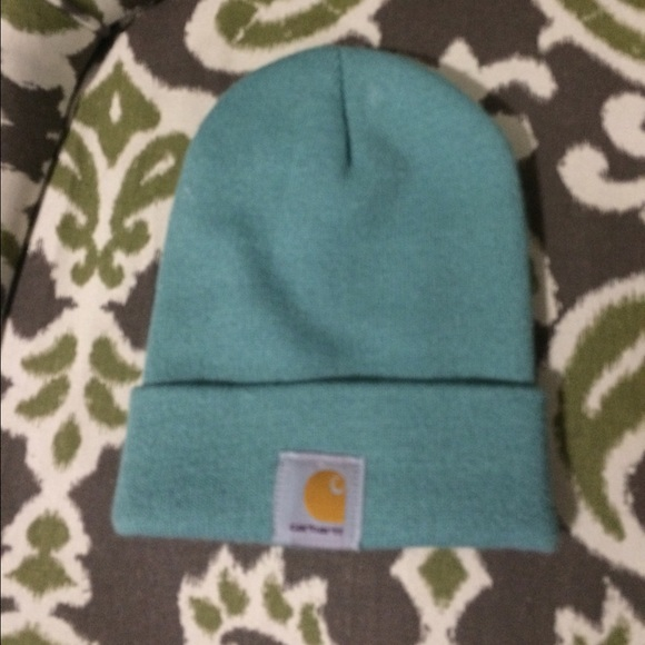 Carhartt Accessories - Light blue Carhartt beanie 7279afb97d5