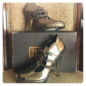 Be & D Shoes - BE & D Evangelist Pewter pumps size 7.5 shoes