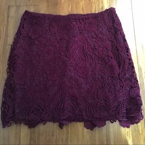 H&M Dresses & Skirts - Crochet Lace H&M Skirt