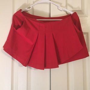 NWT red dressy shorts!