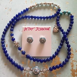 BUNDLE Eye Earrings & Two-Way Necklace or Bracelet