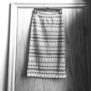 Dresses & Skirts - Renee C Black and White Pencil Skirt