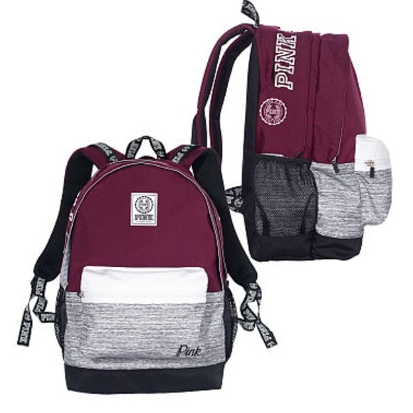 ed741f212e9aa SOLD! PINK Campus Backpack 🤓 Black Orchid NWT