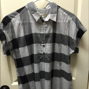 Burberry tunic style top