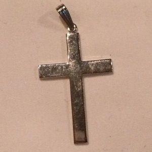 Jewelry - Sterling silver cross slip