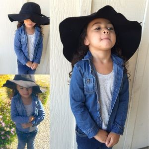Other - Little Girls Floppy Sun Hat.  Toddlers to kids