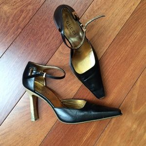 Gucci Shoes - Late 90s Gucci Heels size 7 Euro 37