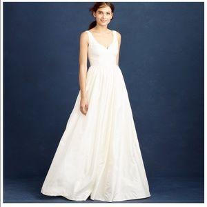 J.Crew Wedding Size Gown Sz 2