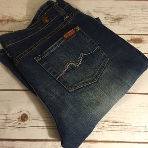 "7 for all mankind jeans. ""A"" pocket. Size 30"