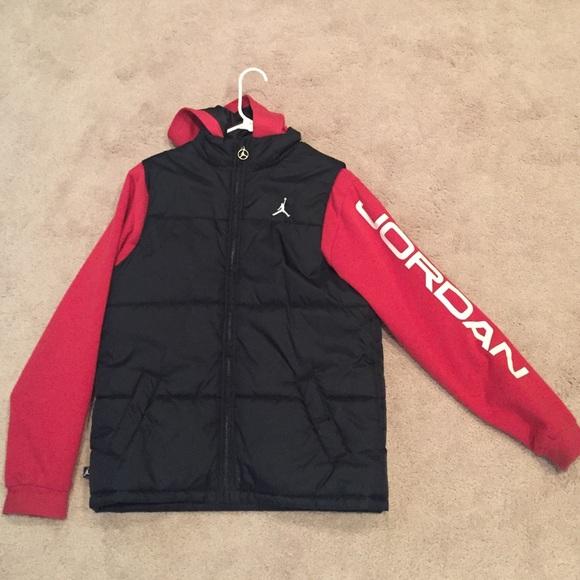 23aee8c1b9b8 Jordan Jackets   Blazers - Michael Jordan Kid s Large Puff Jacket