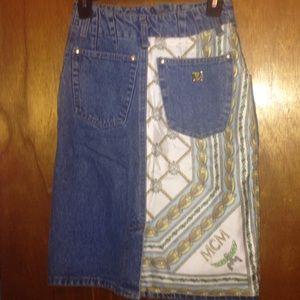 MCM Dresses & Skirts - Mcm denim skirt