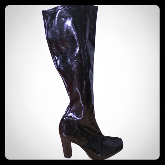 76 bcbgirls shoes bcbg stretch knee high boots from