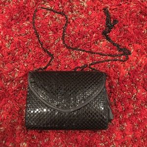 Black Sparkle Crossbody Bag