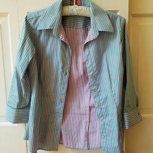 Thomas Pink pastel button down shirt