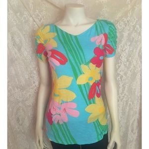 Lilly Pulitzer Floral T-Shirt