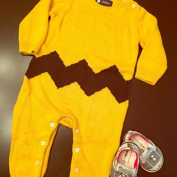 55% off Gap Other - Charlie Brown Sweater Jumpsuit from Brandi's ...