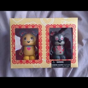 Disney Vinylmation Valentine's LE NWT 