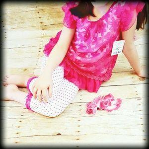 Little Lass Other - 🚨FIRM🎉LITTLE LASS NWT Girls 4-6x Capri Outfit