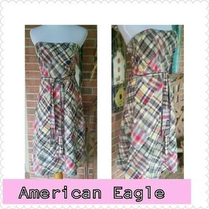 Pretty in Plaid!! American Eagle Dress