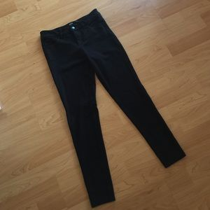 Joe's jeans black pants. Soft, stretch, flattering