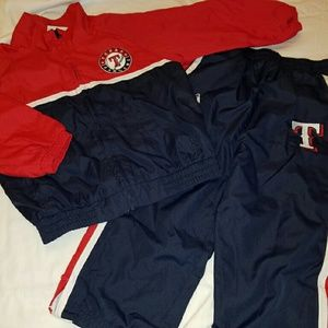 Majestic Other - Texas Rangers jogging suit