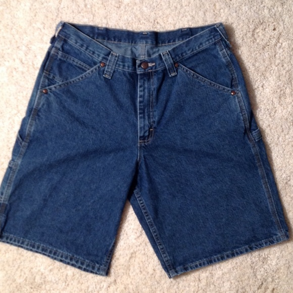 Lee denim shorts mens