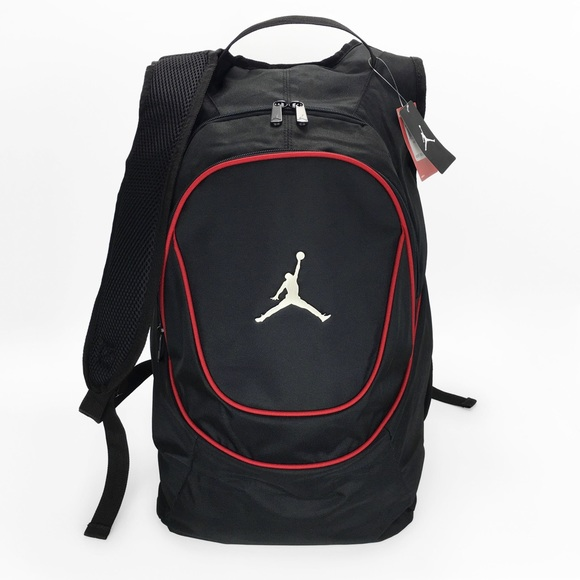 e1a372dffa7b Nike Air Jordan Jumpman Backpack Black  Red