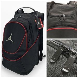 Jordan Bags - Nike Air Jordan Jumpman Backpack Black  Red 55b4137807126