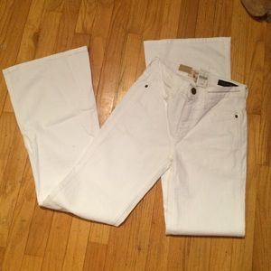 Current Elliot Barneys New York white denim BNWT.