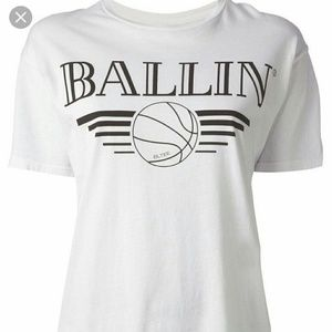 Brian Lichtenberg Ballin cotton jersey T-shirt