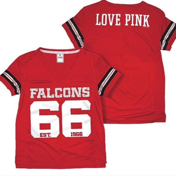 Victoria s Secret Pink Atlanta Falcons Jersey. M 579abfe07fab3af26b0335c2 57603f7325b2