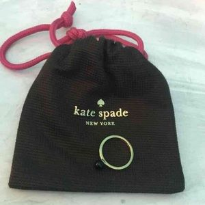 Kate spade ring with dust bag