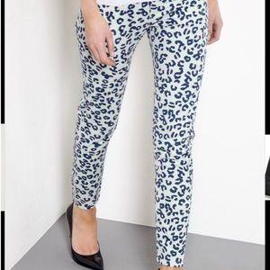 APC Denim - A.P.C. Leopard Moto jeans sz 29