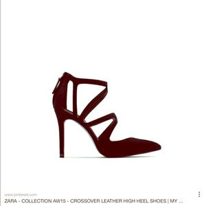 ISO of these Zara Heels.