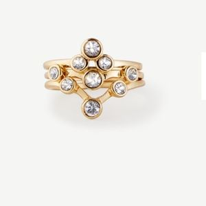 Ann Taylor Jewelry - Delicate bobble ring set