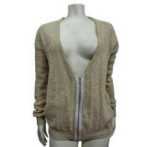 Urban Outfitters Silence Noise zip up cardi XS