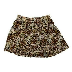 Urban Outfitters Silence Noise wild print skirt L