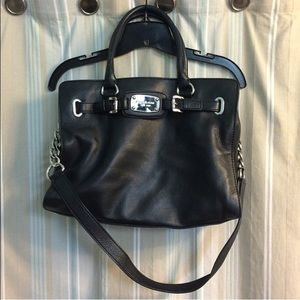 *Authentic* Michael Kors leather tote bag