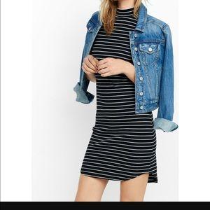 Express Dresses & Skirts - Express Mock Neck fitted dress