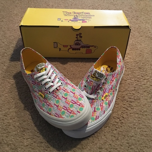 Limited edition The Beatles Vans 7e32f0f21
