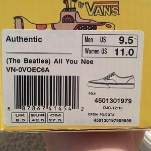 Vans Shoes - Limited edition The Beatles Vans 3c2d6c13f