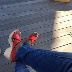 Zara Shoes - ZARA Retro 70s CLOGS