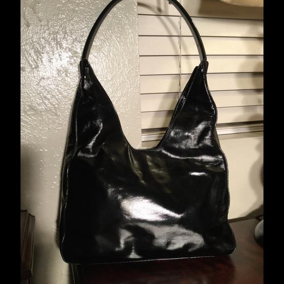 991b67996dd1 Prada Black patent leather hobo purse. M_579b67ab6a5830929b043641