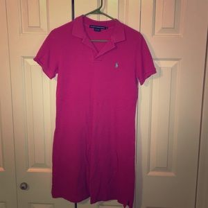 Ralph Lauren Sport Pink Polo Dress