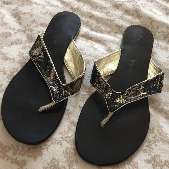 60 aldo shoes black and gold sandal from abigail s