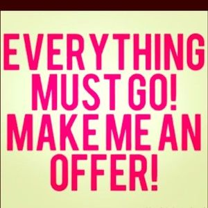 Other - I consider all reasonable offers!