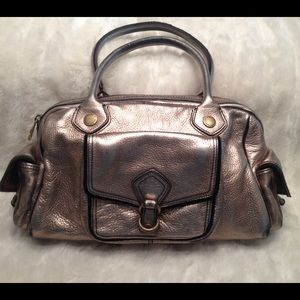 LARGE MARC by MARC JACOBS Leather Satchel