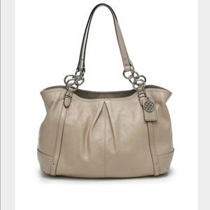 Auth Coach Alexandra (color is Putty) w/dust bag