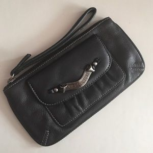 JUICY COUTURE , Genuine Leather Wristlet 